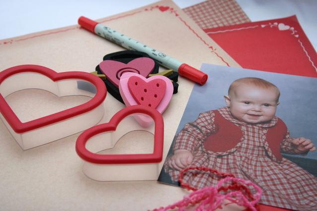 Scrapbooking s fotkou dítěte